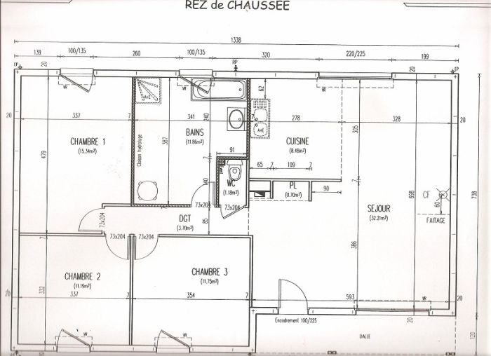 plan maison phenix 1970