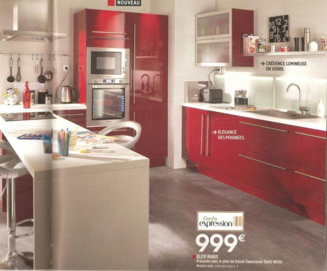 Cuisine Vintage Blanche Kidkraft 53208 : cuisine modéle élite rouge rubis  maisonphenixnatsteph  Skyrock